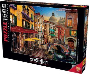 Kanal Cafe Canal Cafe Venice  1500 Parça Yapboz