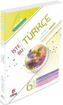 Kanıt Yayınları6. Sınıf Türkçe İşte Bu Soru Bankası
