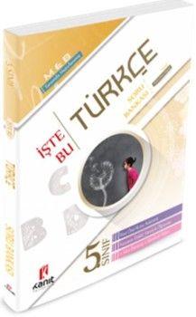 Kanıt Yayınları5. Sınıf Türkçe İşte Bu Soru