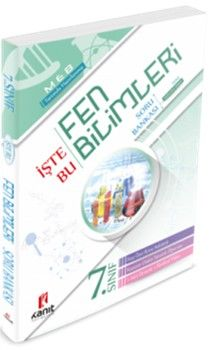 Kanıt Yayınları 7. Sınıf Fen Bilimleri İşte Bu Soru Bankası