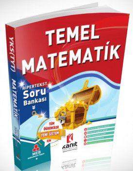 Kanıt Yayınları YKS 1. Oturum TYT Temel Matematik Hipertekst Soru Bankası