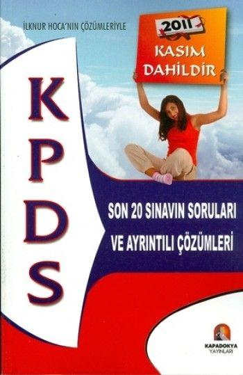 Kapadokya Yayınları KPSD Son 20 Sınavın Soruları ve Ayrıntılı Çözümleri