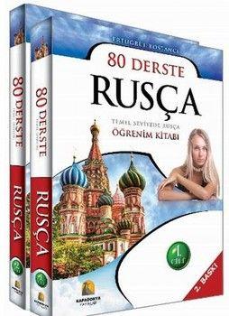 Kapadokya Yayınları 80 Derste Rusça 1 2