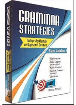 Kapadokya Yayınları Grammar Strategies Türkçe Açıklamalı ve Kapsamlı Gramer Konu Anlatımı