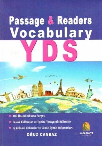 Kapadokya Yayınları YDS Passege & Readers Vocabulary