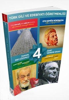 Kaplan Akademi 2020 ÖABT Türk Dili ve Edebiyatı Öğretmenliği Tamamı PDF Çözümlü 4lü Deneme Seti