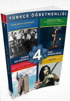 Kaplan Akademi 2020 ÖABT Türkçe Öğretmenliği Tamamı PDF Çözümlü 4lü Deneme Seti