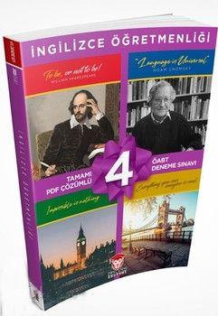 Kaplan Akademi 2020 KPSS ÖABT İngilizce Öğretmenliği Tamamı PDF Çözümlü 4lü Deneme Seti