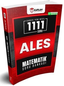 Kaplan Akademi 2021 ALES Matematik Sadece Yeni Nesil 1111 Soru Bankası