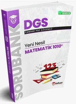 Kaplan Akademi 2021 DGS Matematik Yeni Nesil 1010 Soru Bankası