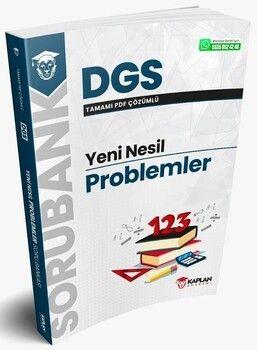 Kaplan Akademi 2021 DGS Problemler Yeni Nesil Soru Bankası