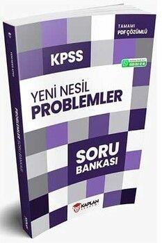Kaplan Akademi 2021 KPSS Problemler Yeni Nesil Soru Bankası