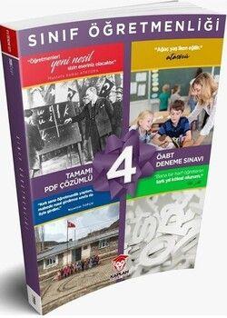Kaplan Akademi ÖABT Sınıf Öğretmenliği Tamamı PDF Çözümlü 4 Deneme Sınavı