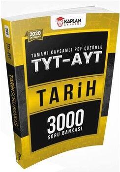Kaplan Akademi TYT AYT Tarih Tamamı PDF Çözümlü 3000 Soru Bankası
