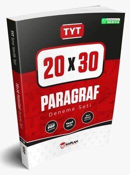Kaplan Akademi TYT Paragraf 20x30 Tamamı PDF Çözümlü Denemeleri