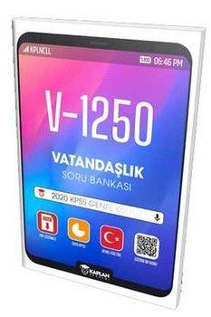Kaplan Akademi Yayınları 2020 KPSS Genel Kültür Vatandaşlık Soru Bankası