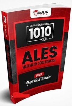 Kaplan Akademi Yayınları ALES Matematik Sınavdan Önce Çözülecek 1010 Soru Bankası