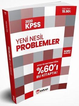 Kaplan Akademi Yayınları 2020 KPSS Klasik ve Yeni Nesil Problemler Soru Bankası