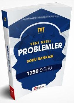 Kaplan Akademi Yayınları TYT Yeni Nesil Problemler Soru Bankası