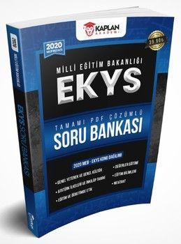 Kaplan Akademi Yayınları 2020 MEB EKYS Tamamı PDF Çözümlü Soru Bankası