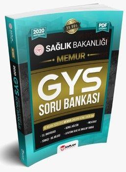 Kaplan Akademi Yayınları 2020 GYS Sağlık Bakanlığı Memur Unvanı Görevde Yükselme Sınavı Tamamı PDF Çözümlü Soru Bankası