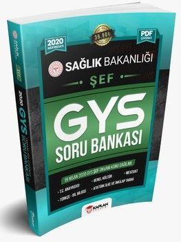 Kaplan Akademi Yayınları 2020 GYS Sağlık Bakanlığı ŞEF Unvanı Görevde Yükselme Sınavı Tamamı PDF Çözümlü Soru Bankası