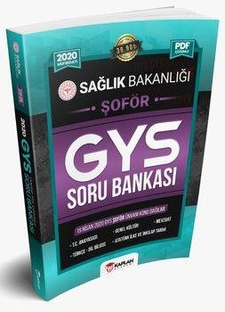 Kaplan Akademi Yayınları 2020 GYS Sağlık Bakanlığı ŞOFÖR Unvanı Görevde Yükselme Sınavı Tamamı PDF Çözümlü Soru Bankası