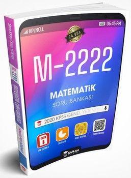 Kaplan Akademi Yayınları 2020 KPSS Matematik Tamamı PDF Çözümlü M 2222 Soru Bankası