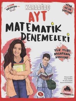 Karaağaç Yayınları AYT Matematik Denemeleri Yüz Yüze Anlatılan Konular