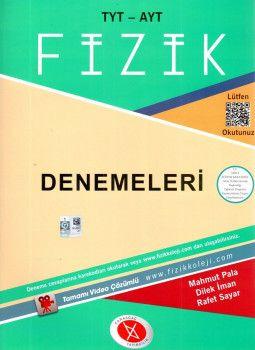Karaağaç Yayınları YKS 1. ve 2. Oturum TYT AYT Fizik Tamamı Video Çözümlü Deneme