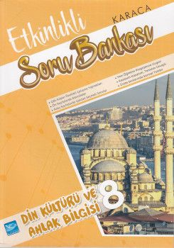 Karaca Eğitim Yayınları 8. Sınıf Din Kültürü ve Ahlak Bilgisi Etkinlikli Soru Bankası