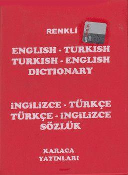 Karaca Yayınları İngilizce Türkçe ? Türkçe İngilizce Sözlük Cep Boy