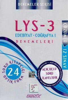 Karekök LYS 3 12 li Sınav Edebiyat Coğrafya Denemeleri