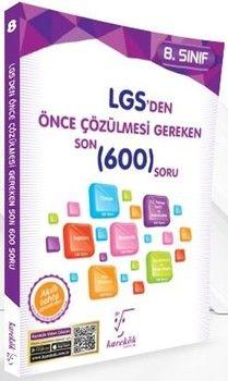 Karekök Yayıncılık 8. Sınıf LGS den Önce Çözülmesi Gereken Son 600 Soru