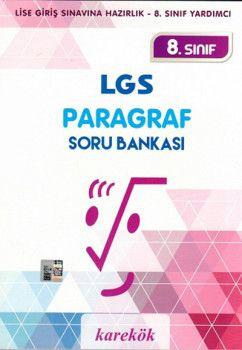 Karekök Yayıncılık 8. Sınıf LGS Paragraf Soru Bankası