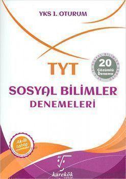 Karekök Yayınları TYT Sosyal Billimler 20li Denemeleri