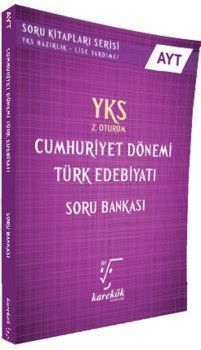 Karekök Yayınları AYT Cumhuriyet Dönemi Türk Edebiyatı Soru Bankası