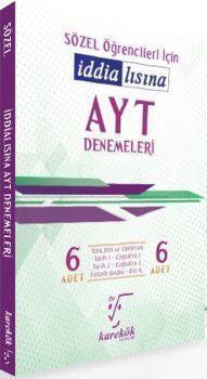 Karekök Yayınları AYT Sözel Öğrencileri İçin İddialısına 6lı Denemeleri