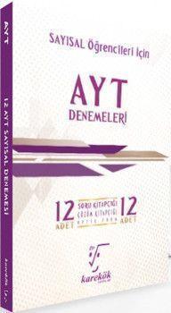 Karekök Yayınları AYT Sayısal Öğrencileri İçin İddialısına 12li Denemeleri