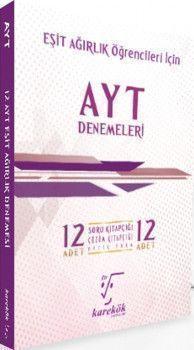Karekök Yayınları AYT Eşit Ağırlık Öğrencileri İçin İddialısına 12li Denemeleri