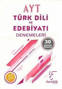 Karekök Yayınları AYT Türk Dili ve Edebiyatı 30lu Deneme