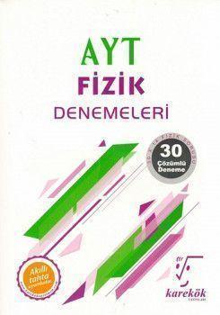 Karekök Yayınları AYT Fizik 30lu Denemeleri