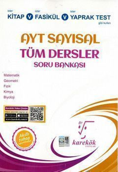 Karekök Yayınları AYT Sayısal Tüm Dersler Soru Bankası
