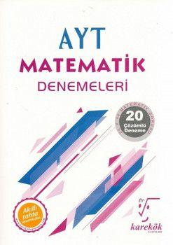Karekök Yayınları AYT Matematik 20li Deneme