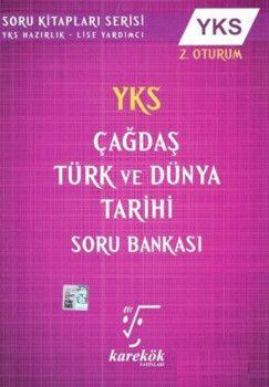 Karekök Yayınları YKS Çağdaş Türk ve Dünya Tarihi Soru Bankası