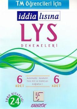 Karekök Yayınları LYS TM Öğrencileri için İddialısına 6 Deneme