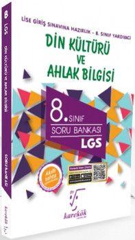 Karekök Yayınları 8. Sınıf LGS Din Kültürü ve Ahlak Bilgisi Soru Bankası