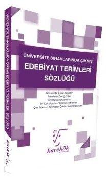Karekök Yayınları Edebiyat Terimleri Sözlüğü