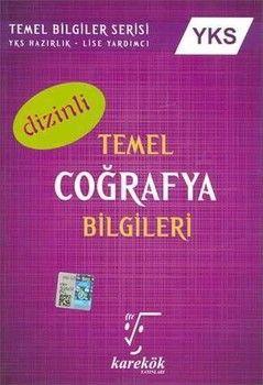 Karekök Yayınları YKS Temel Coğrafya Bilgileri Dizinli