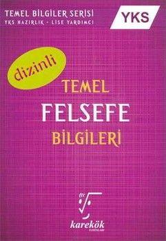 Karekök Yayınları AYT Temel Felsefe Bilgileri